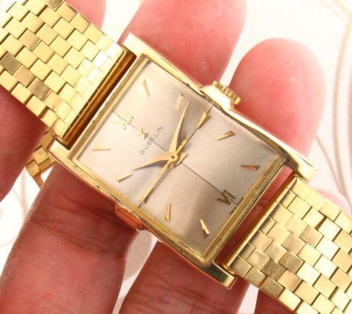 GUBELIN 18k Solid Gold Swiss 17 Jewels Manual Wind