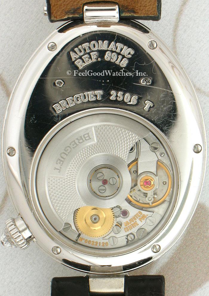 Breguet 8918BB Reine de Naples, White Gold & Diamonds