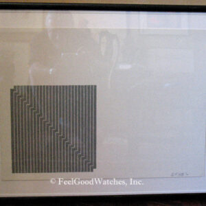 Frank Stella Black Series Limited Edition Lithograph, ca. 1970