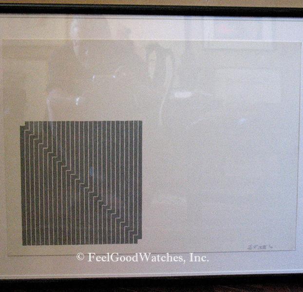 Frank Stella Black Series Limited Edition Lithograph, ca. 1970