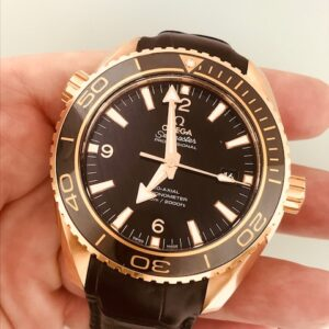 Omega Seamaster Rose Gold Chronometer Reference 232.63.46.21.01.001 Unworn