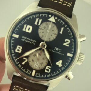 IWC Pilot's Antoine de Saint Exupéry Chronograph Reference IW387806 Unworn