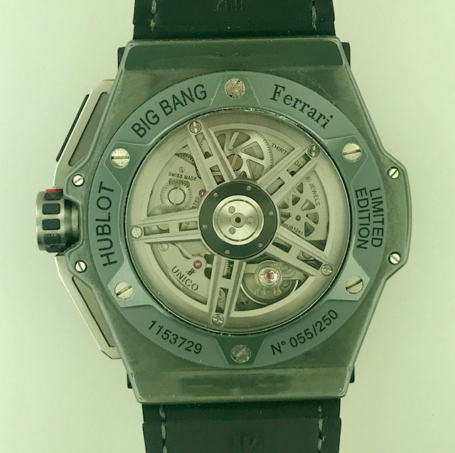 Hublot Big Bang UNICO Ferrari Limited Edition Chronograph 401.FX.1123.VR