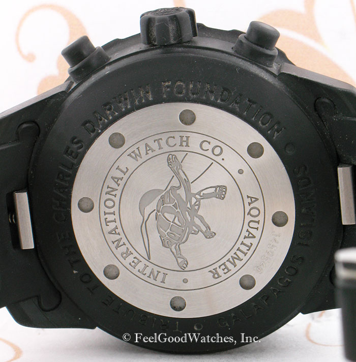 IWC IW376705 Aquatimer Chronograph Galapagos, Steel