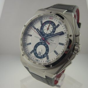 IWC Ingenieur Chronograph in Steel Reference IW378404 Limited Edition DFB German Football Edition