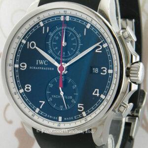 IWC IW390210 Portuguese Yacht Club Chronograph, Steel