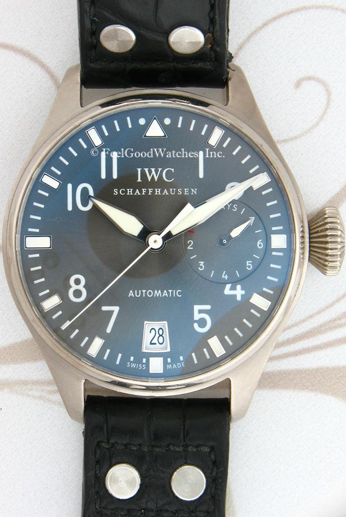 IWC IW500402 Big Pilot, White Gold