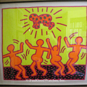 Keith Haring Fertility Suite #1 Limited Edition Screenprint, ca.