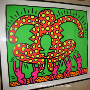Keith Haring Fertility Suite #4 Limited Edition Screenprint, ca.