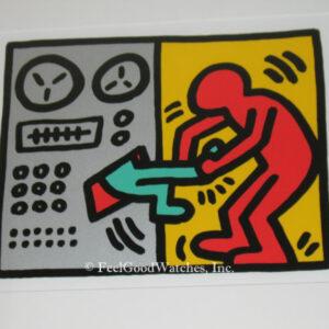 Keith Haring Pop Shop III A Limited Edition Screenprint, ca. 198