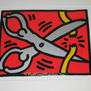 Keith Haring Pop Shop III B Limited Edition Screenprint, ca. 198