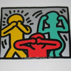 Keith Haring Pop Shop III C Limited Edition Screenprint, ca. 198