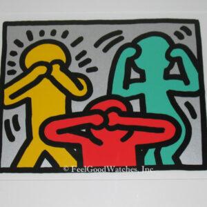 Keith Haring Pop Shop III C Limited Edition Screenprint, ca. 198