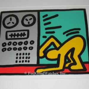 Keith Haring Pop Shop III D Limited Edition Screenprint, ca. 198