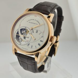 A. Lange & Sohne 760.032 Richard Lange Tourbillon Pour Le Merite in Rose Gold