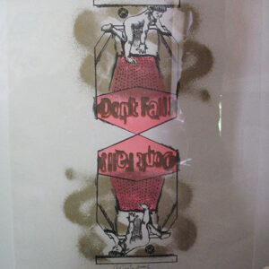 "Larry Rivers ""Don't Fall"" Artist's Proof Lithograph, ca. 1966"