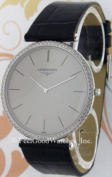 Longines L4.766.7.72.2, La Grande Classique White Gold