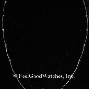 Ladies' 18 Karat White Gold & Diamond Necklace