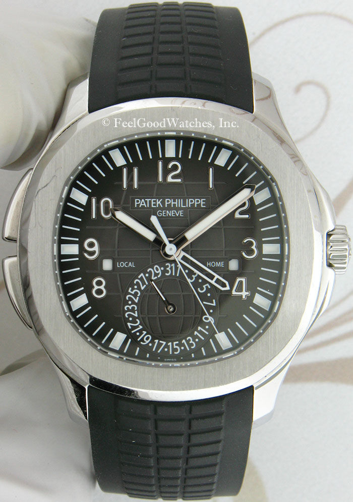 Patek Philippe 5164A Aquanaut Travel Time, Steel