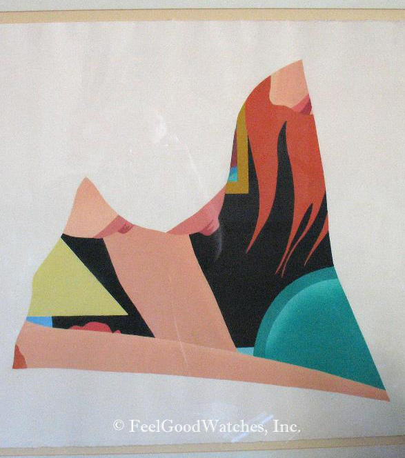 """Tom Wesselmann """"Bedroom Dropout"""" Limited Edition, ca. 1983"""
