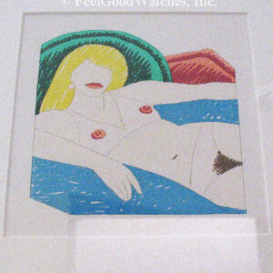 "Tom Wesselmann ""Shiny Nude"" Limited Edition, ca. 1977"