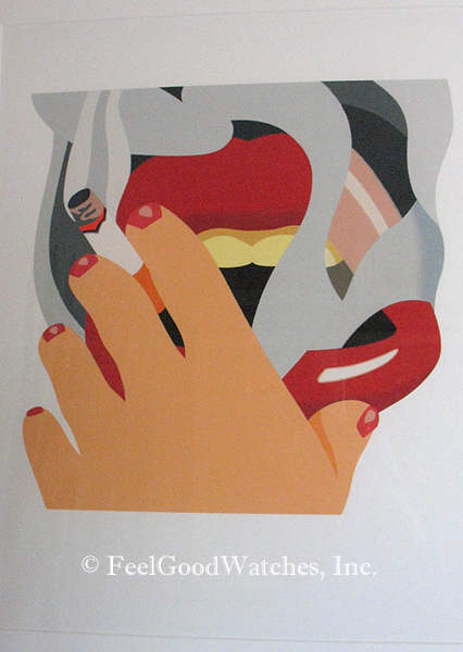 "Tom Wesselmann ""Smoker"" Limited Edition, ca. 1976"