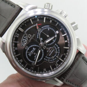 Omega Deville ref 422.13.44.52.13.001 Chronoscope Stainless Steel Men's Watch