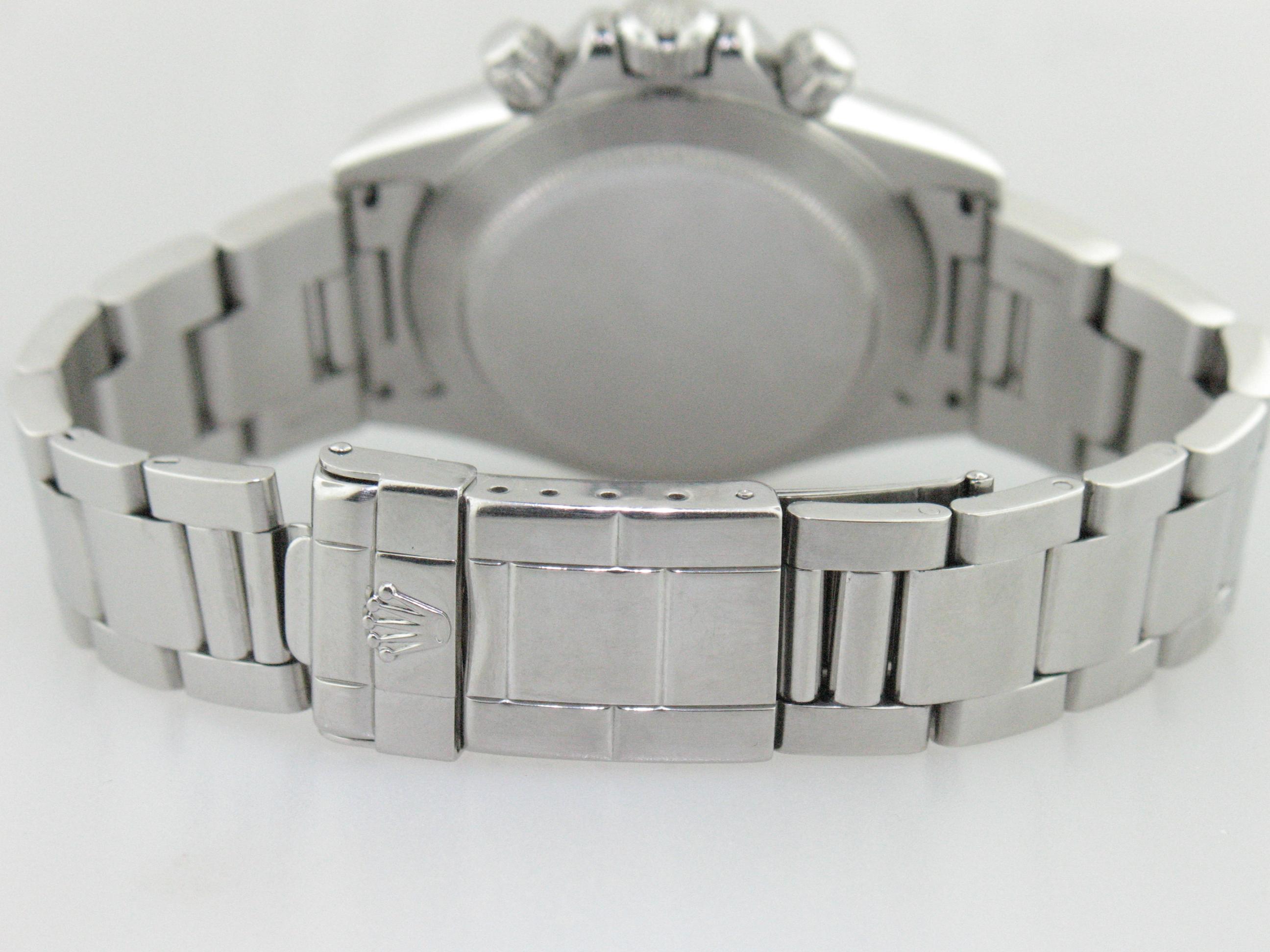 Rolex Daytona Stainless Steel With Zenith Movement 16520