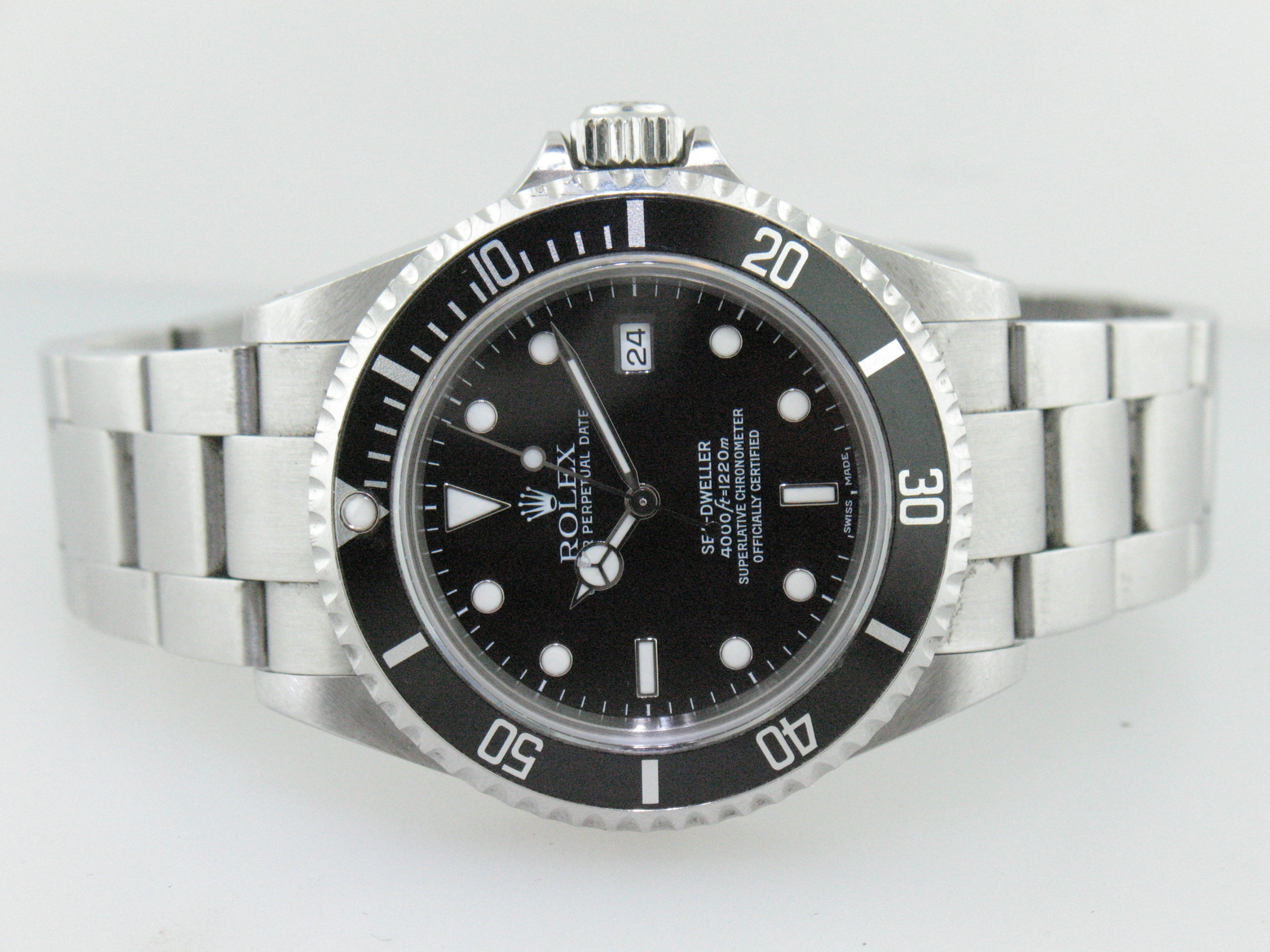 Rolex Seadweller Stainless Steel Reference 16600 Year 2002