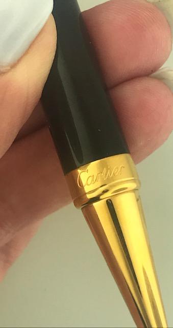 Cartier Ballpoint and Perpetual Calendar Pen Limited Edition #1986/2000 Unworn