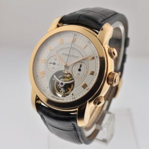 Audemars Piguet Jules Audemars Tourbillon Chronograph in Rose Gold 26010OR.OO.D088CR.01