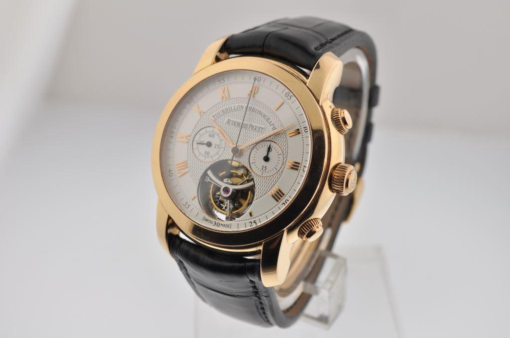 Audemars Piguet Jules Audemars Tourbillon Chronograph in Rose Gold 26010OR.OO.D088CR.01