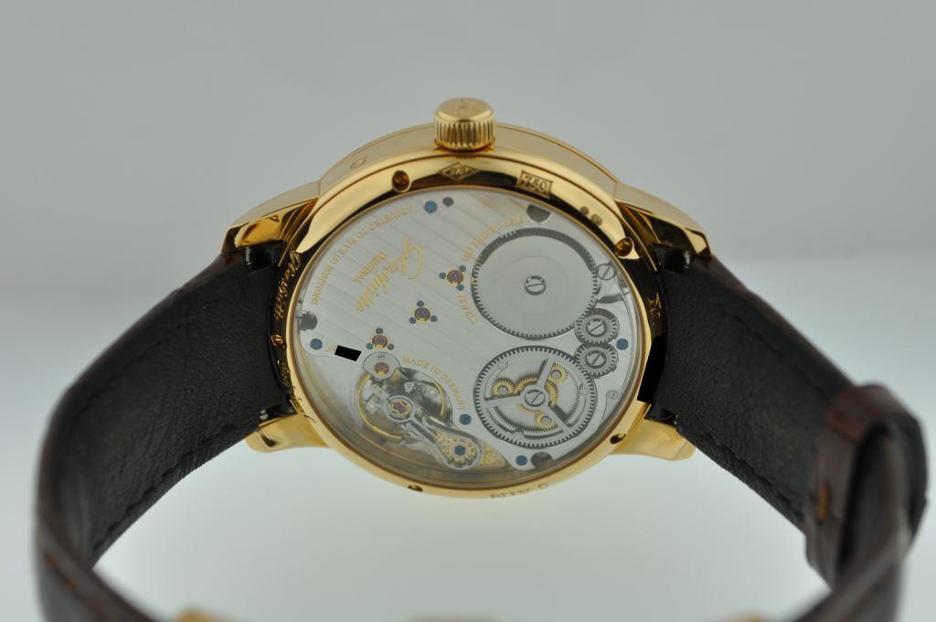 Glashutte Original Senator Chronometer in Rose Gold Reference 58-01-01-01-04