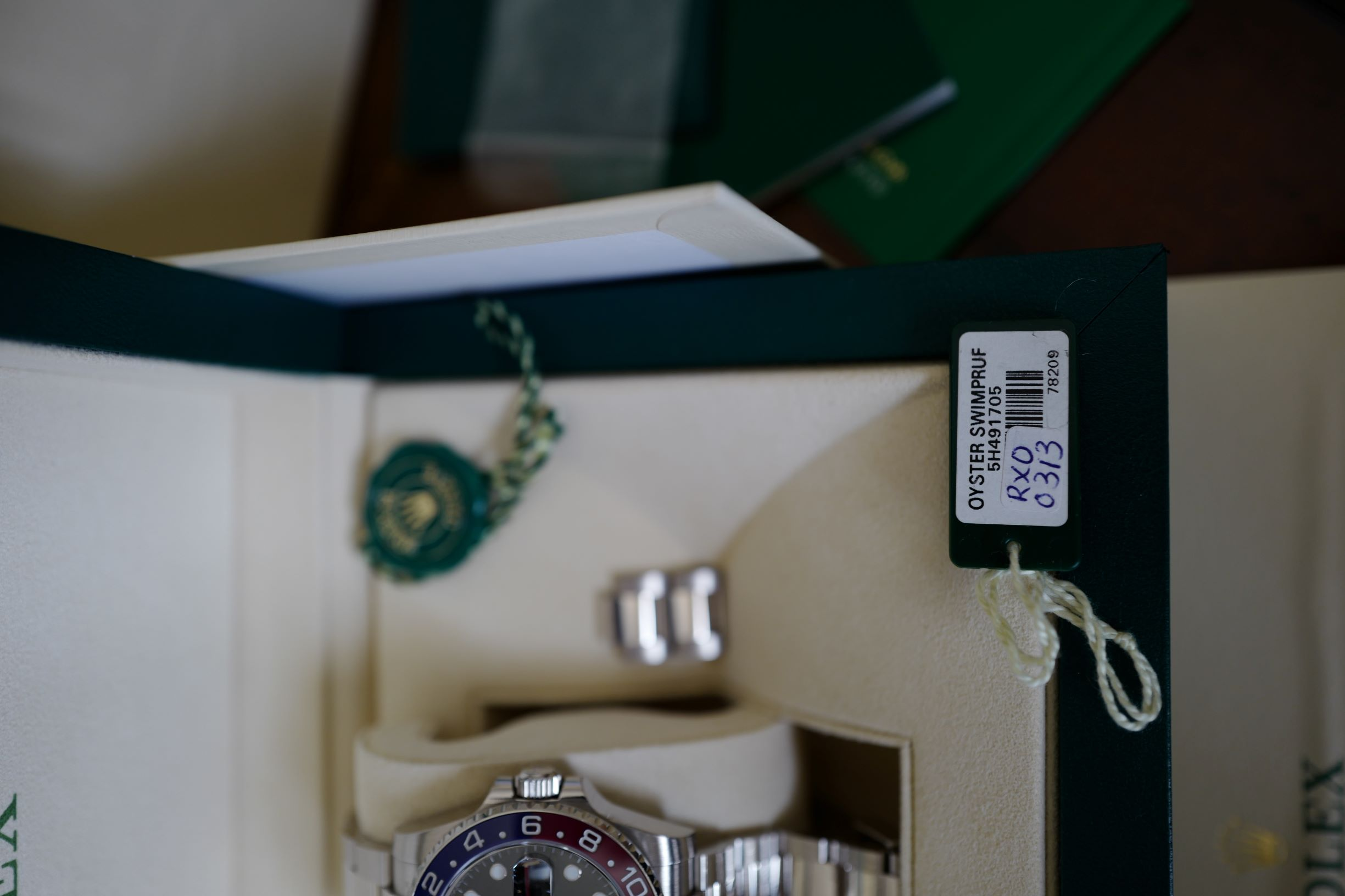 Rolex GMT II Pepsi Dial White Gold Reference 116719